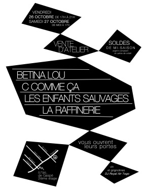 Vente d'atelier Collective Flyer